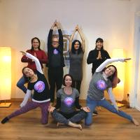 Foto di gruppo Scuola Yoga Anandamaya